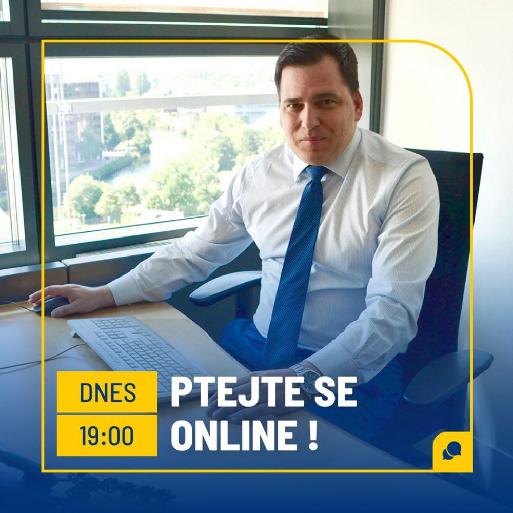On-line rozhovor na Facebooku