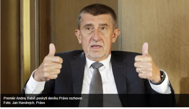 The case of Czech PM: Press conference Thursday 18 June at 13.00 ahead of plenary vote